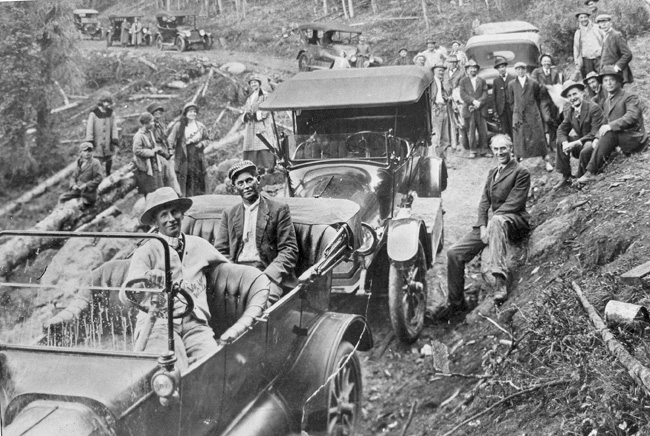 Opening of Wolf Creek Pass