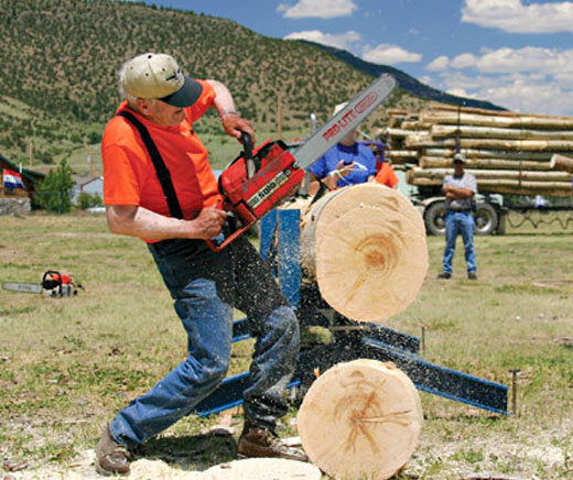 Annual Logger Days Festival