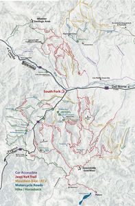 south fork colorado recreation map