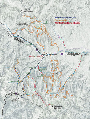 south fork colorado winter recreation map 1